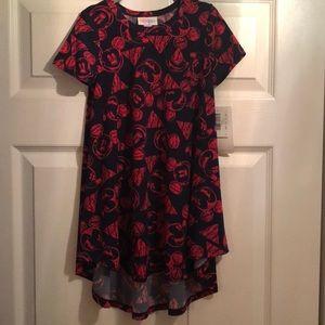 NWT Lularoe Disney Mickey Mouse Scarlett Dress